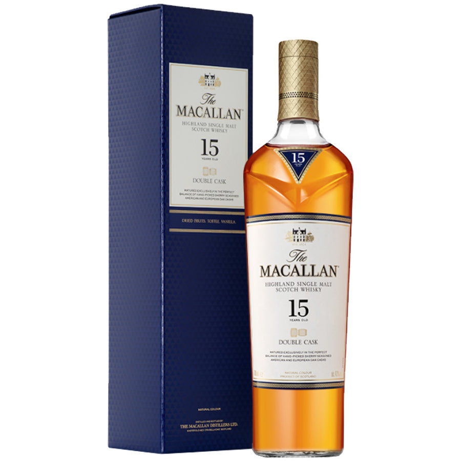 Macallan 15yr Double Cask Single Malt Scotch