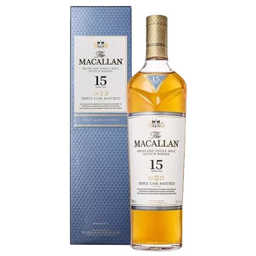 Macallan 15yr Triple Cask Matured Single Malt Scotch