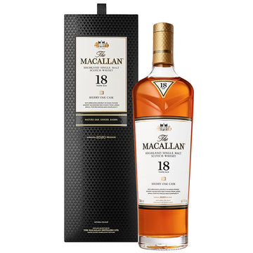 Macallan 18yr Sherry Oak Single Malt Scotch