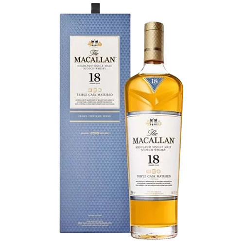 Macallan 18yr Triple Cask Single Malt Scotch