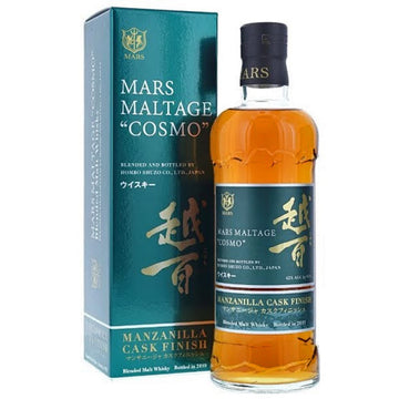 Mars Maltage 'Cosmo' Manzanilla Cask Finish Blended Japanese Whisky
