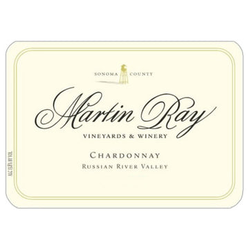 Martin Ray Russian River Valley Chardonnay 2017