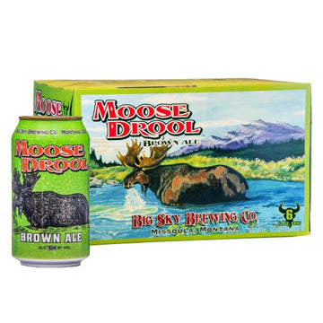 Big Sky Brewing Moose Drool Ale 6pk/12oz Cans