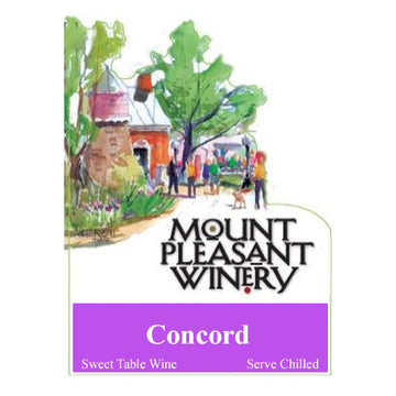 Mount Pleasant Winery Concord