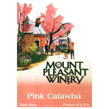 Mount Pleasant Winery Pink Catawba