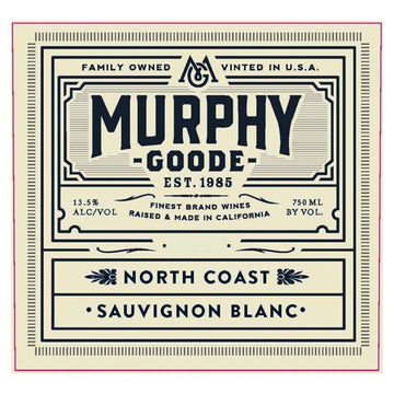 Murphy Goode Sauvignon Blanc The Fume 2017