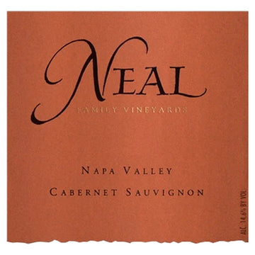 Neal Family Vineyards Napa Valley Cabernet Sauvignon 2015