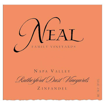 Neal Family Vineyards Rutherford Dust Zinfandel 2017