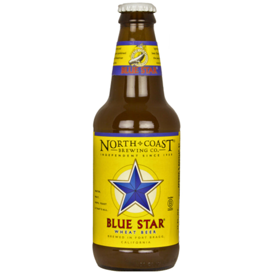 North Coast Blue Star Wheat Beer 6pk/12oz Bottles