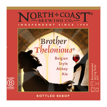 North Coast Brother Thelonious Belgian Style Ale 4pk 12oz Bottles