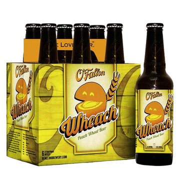 O'Fallon Wheach Beer 6pk/12oz Bottles