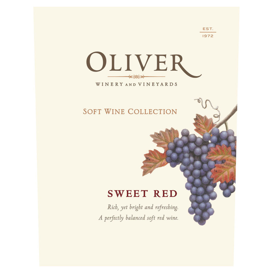 Oliver Winery Sweet Red