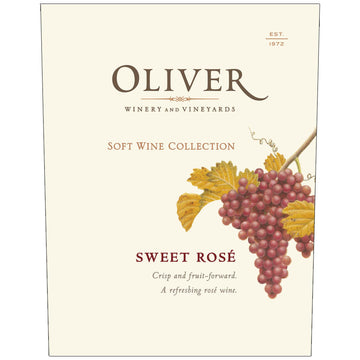 Oliver Winery Sweet Rosé