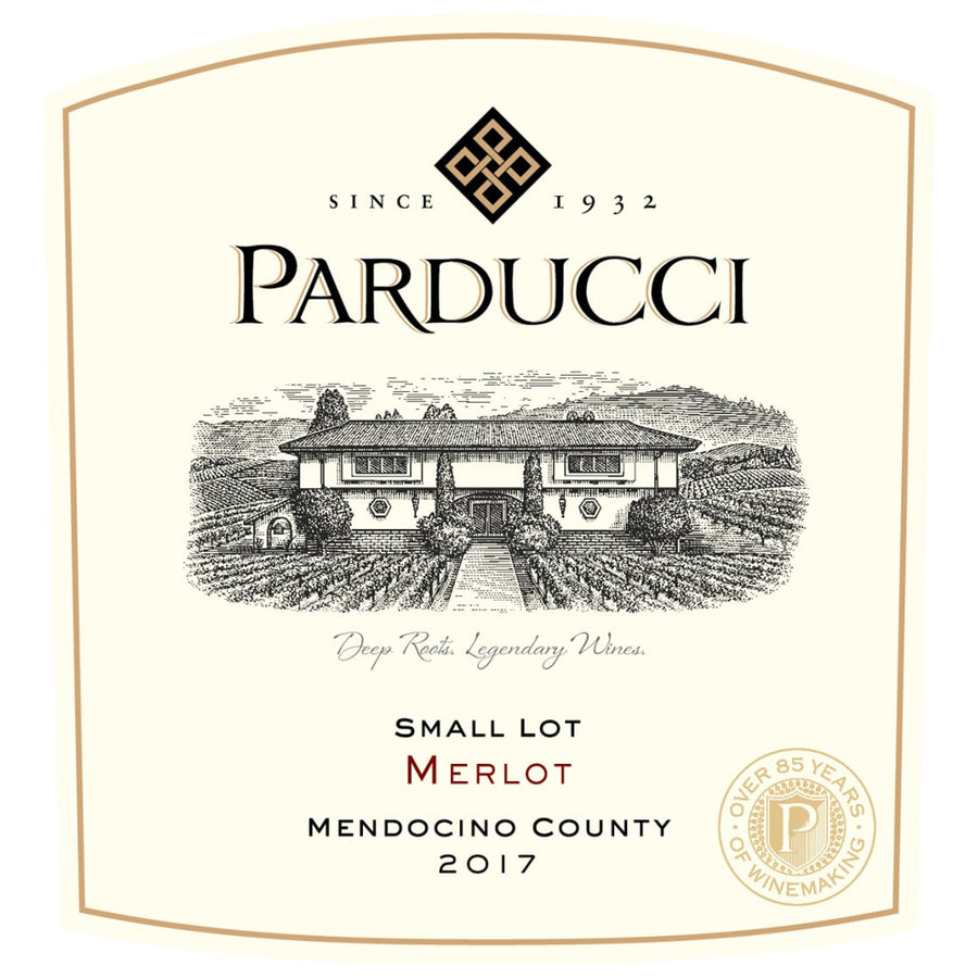 Parducci Small Lot Merlot 2017
