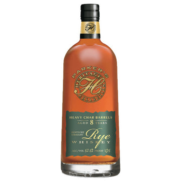 Parker's Heritage Collection 8yr Rye Whiskey