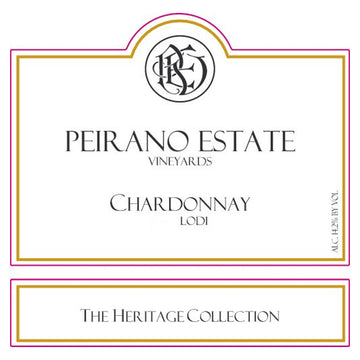 Peirano Estate The Heritage Collection Chardonnay 2016