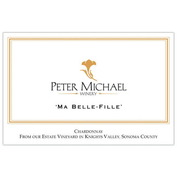 Peter Michael Chardonnay Ma Belle Fille 2012