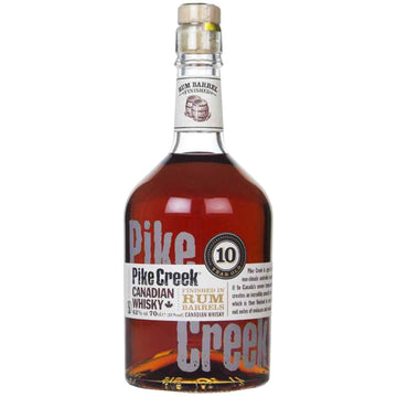 Pike Creek 10yr Rum Barrel Finish Canadian Whisky