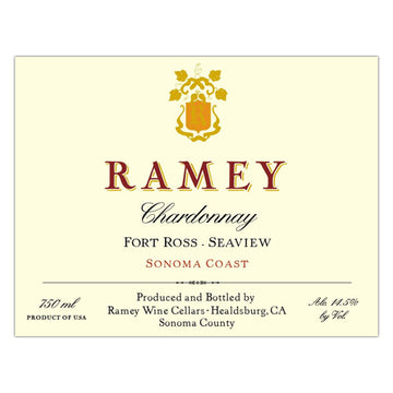 Ramey Fort Ross-Seaview Chardonnay 2016