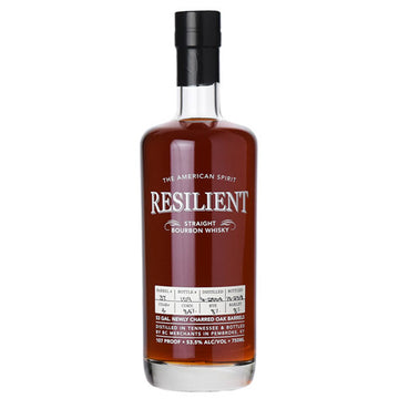 Resilient 15yr Tennessee Straight Bourbon Whiskey