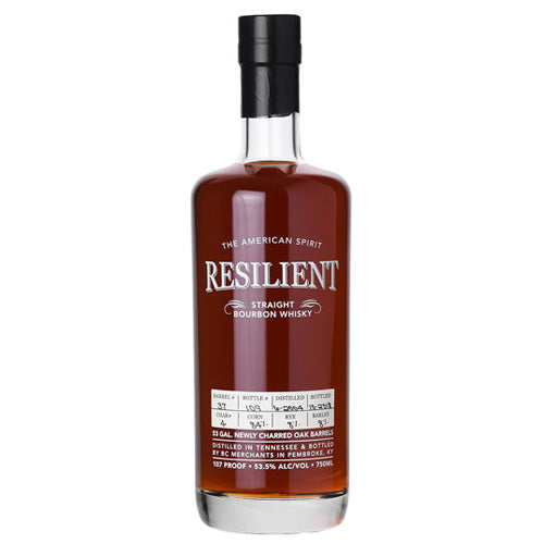 Resilient 14yr Tennessee Straight Bourbon Whiskey