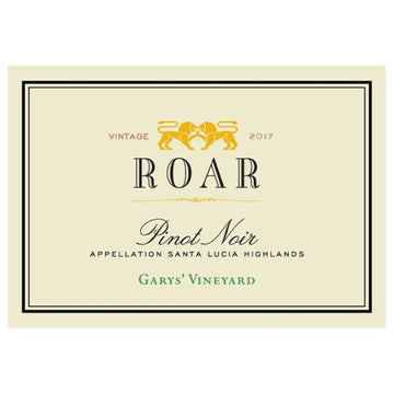 Roar Garys' Vineyard Pinot Noir 2017
