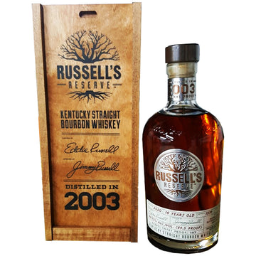 Russell's Reserve 2003 16yr Barrel Proof Bourbon