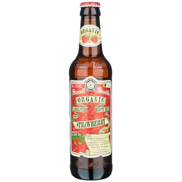 Samuel Smith Organic Strawberry Fruit Beer 550ml Bottle