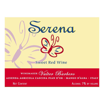 Serena Sweet Red Wine