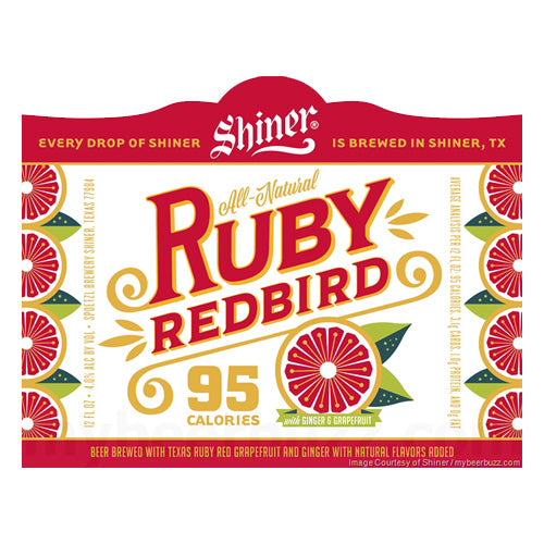 Shiner Ruby Redbird 6pk/12oz Bottles