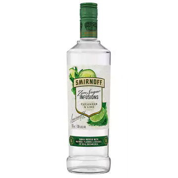 Smirnoff Zero Sugar Infusions Cucumber & Lime Vodka