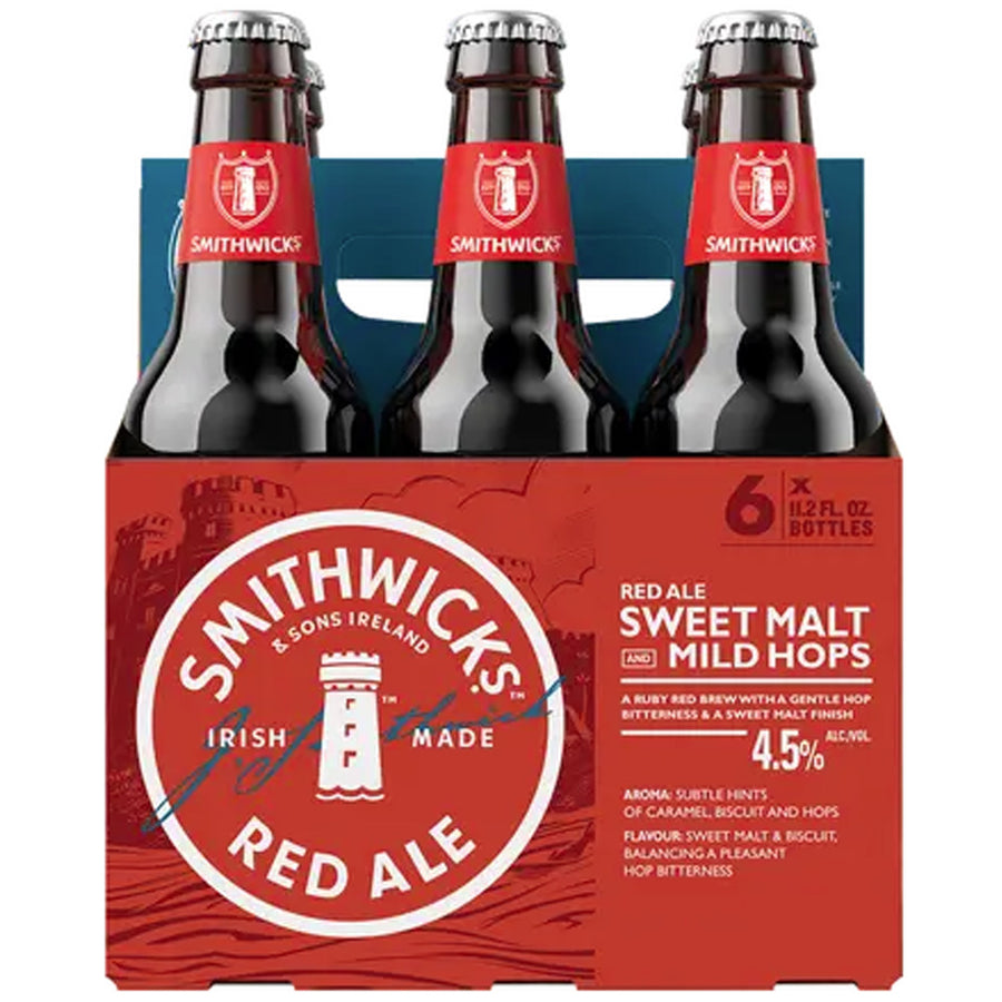 Smithwick's Irish Ale 6pk/11.2oz Bottles