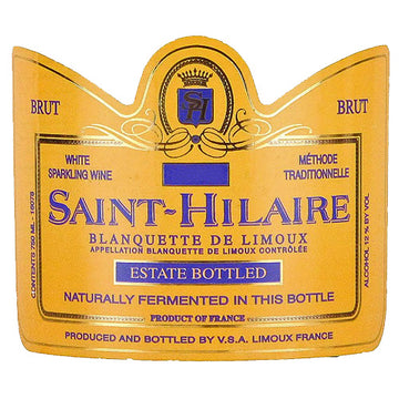 Saint Hilaire Extra Dry Sparkling Wine