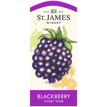 St. James Winery Blackberry Sweet Wine