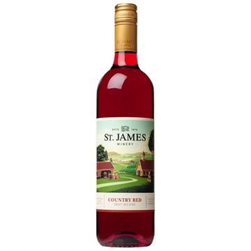 St. James Winery Country Red Sweet Red Wine