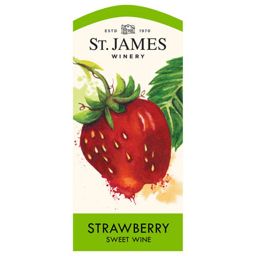 St. James Strawberry Sweet Wine