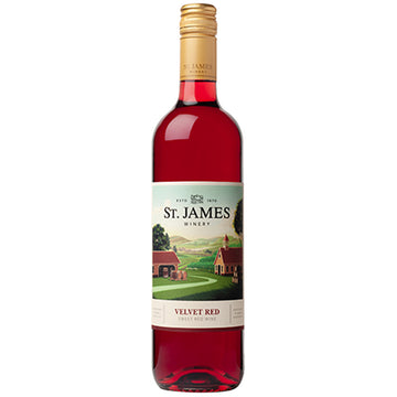 St. James Velvet Red