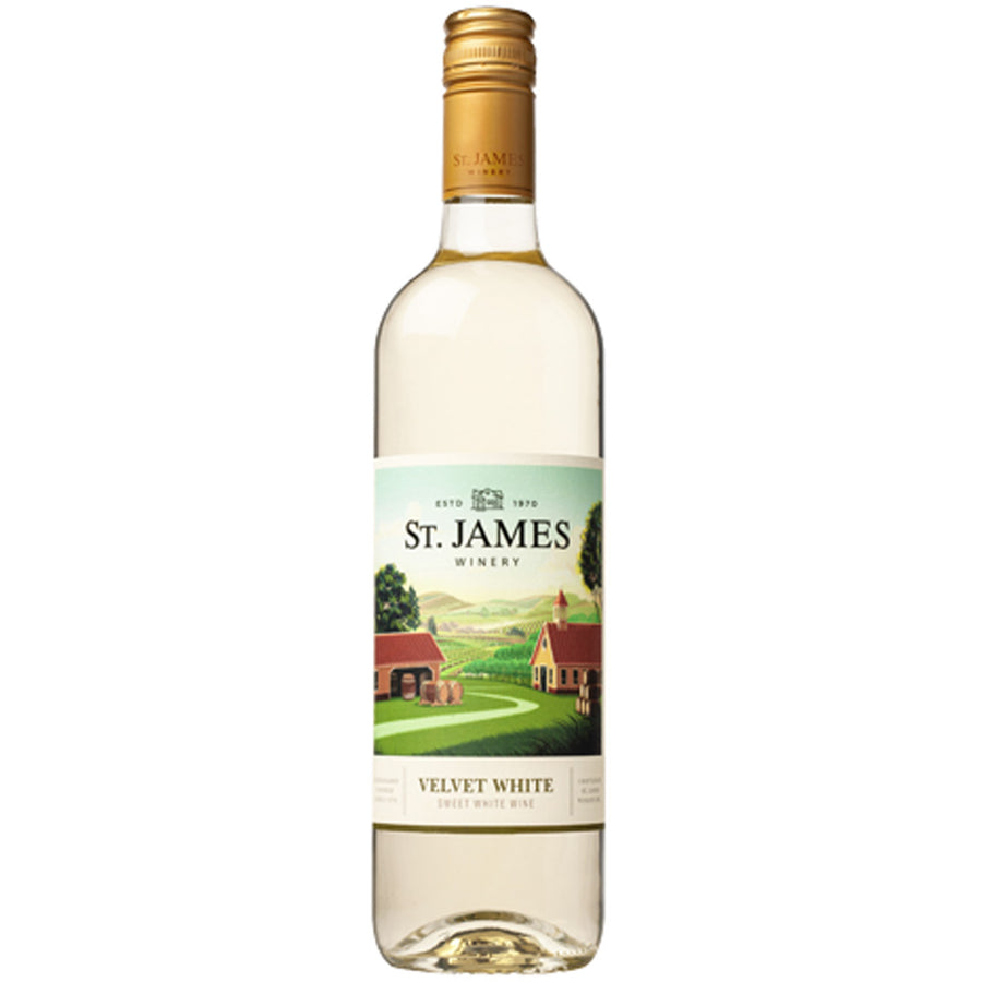 St. James Velvet White
