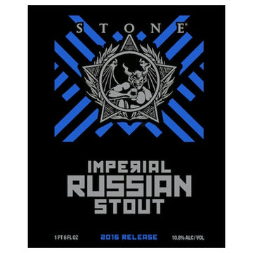 Stone Brewing Imperial Russian Stout 22oz Bottle
