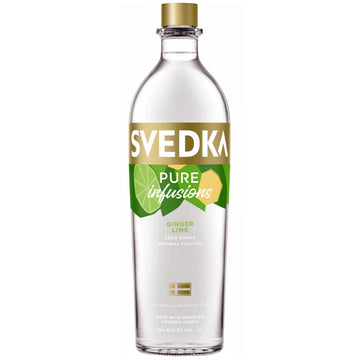 Svedka Pure Infusions Ginger Lime Vodka