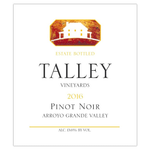 Talley Vineyards 2016 Pinot Noir Arroyo Grande Valley