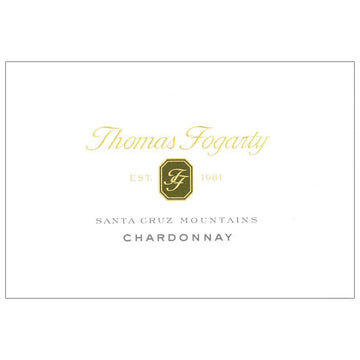 Thomas Fogarty Estate Santa Cruz Mountains Chardonnay 2016