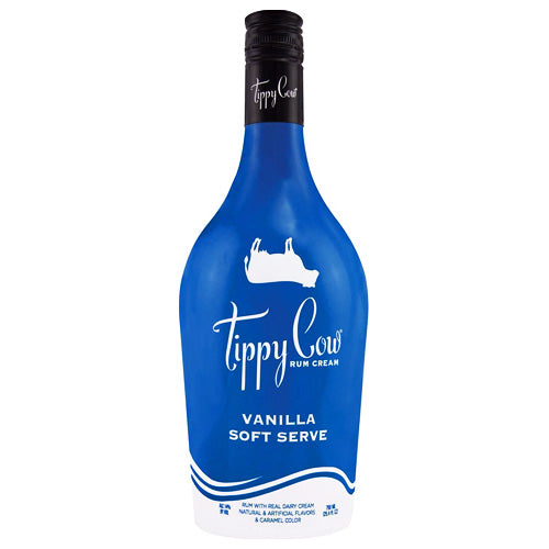 Tippy Cow Vanilla Soft Serve Rum Cream Liqueur