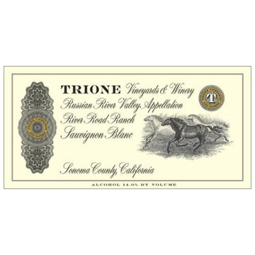 Trione Vineyards River Road Ranch Sauvignon Blanc 2019
