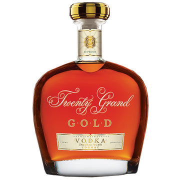 Twenty Grand Gold Vodka w/ Cognac
