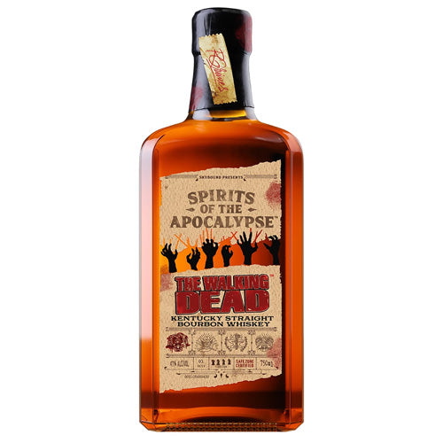 The Walking Dead Bourbon Whiskey