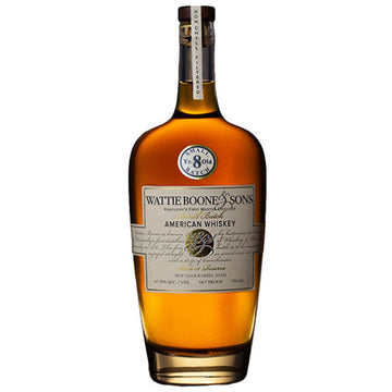 Wattie Boone & Sons Ancient Reserve 8yr Whiskey