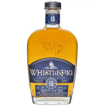 WhistlePig 15yr Estate Oak Straight Rye Whiskey