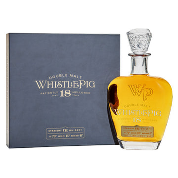 WhistlePig 18yr Double Malt Rye Whiskey