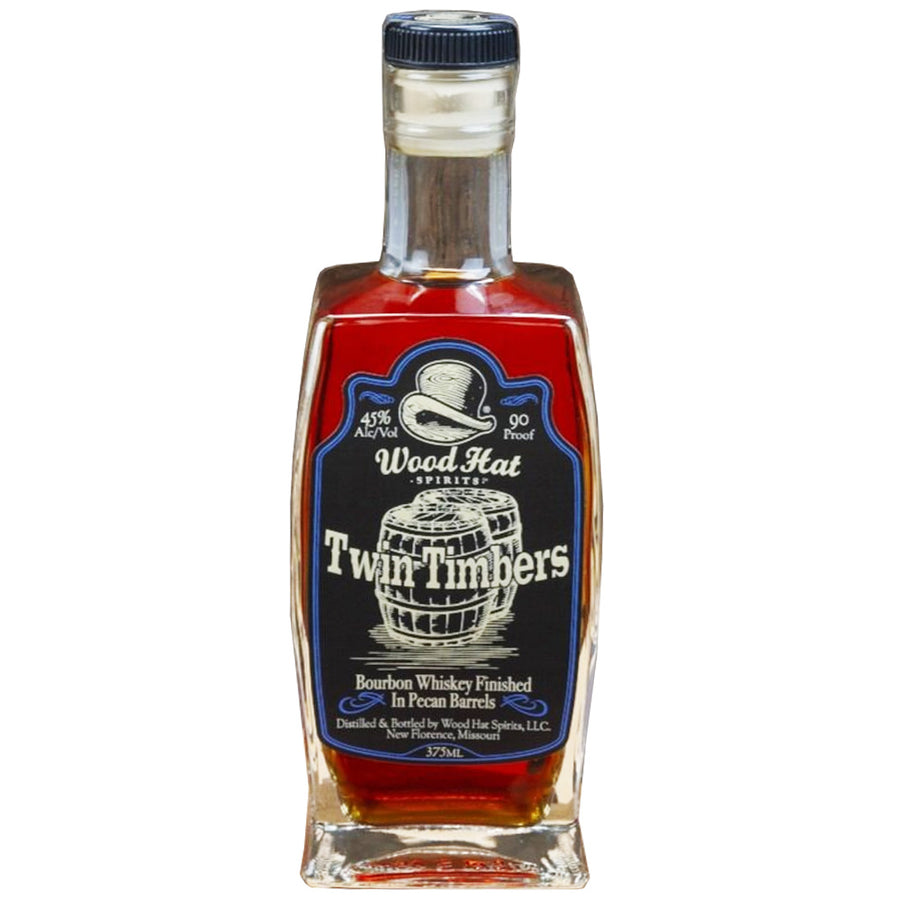 Wood Hat Twin Timbers Bourbon 375ml